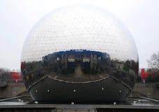 O geode de Paris imagens de stock royalty free
