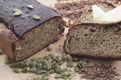 O glúten livra o pão Foto de Stock Royalty Free