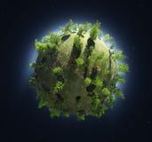 O globo ilustração stock