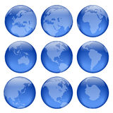 O globo vê #3 Imagem de Stock Royalty Free