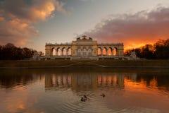 O Gloriette, Viena Foto de Stock Royalty Free
