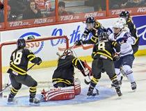 Campeonato do mundo do hóquei em gelo das mulheres de IIHF Fotos de Stock Royalty Free