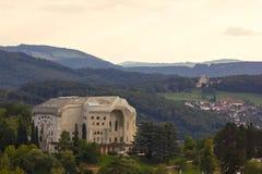 O Goetheanum, situado em Dornach (perto de Basileia), Suíça Foto de Stock Royalty Free