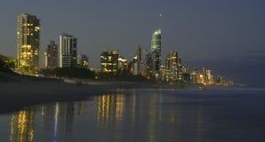 O Gold Coast Imagem de Stock