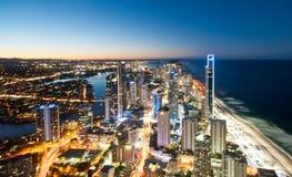 O Gold Coast foto de stock royalty free