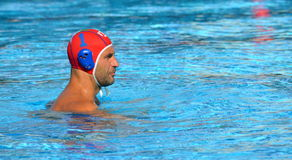 O goleiros de Stefano TEMPESTI (AIE, 1) é o capitão da equipe italiana imagem de stock royalty free