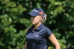 O golfe de Natalie Gulbis Evian domina 2006 Imagens de Stock Royalty Free