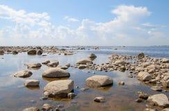 O Golfo da Finlândia Foto de Stock