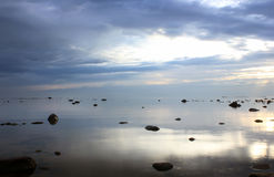 O Golfo da Finlândia, Rússia Imagem de Stock Royalty Free
