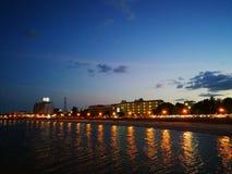 O Golfo da Tailândia, prachubkirikhan fotos de stock