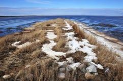 O Golfo de Bótnia Baía de Liminka Imagens de Stock Royalty Free