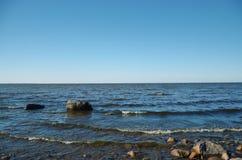 O golfo de Finlandia Imagens de Stock