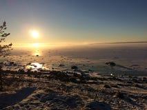 O golfo de Finlandia Imagem de Stock Royalty Free