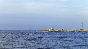 O golfo finlandês no verão Fotos de Stock