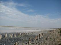 O golfo Sivash, Crimeia Imagem de Stock Royalty Free