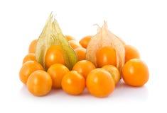 O gooseberry de cabo (physalis) isolou-se Imagens de Stock
