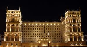 O governo de Baku, Azerbaijan Fotografia de Stock