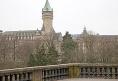 Arquitetura de Luxembourg Imagem de Stock Royalty Free