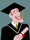 O graduado Imagens de Stock Royalty Free