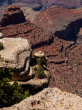 O Grand Canyon Fotos de Stock