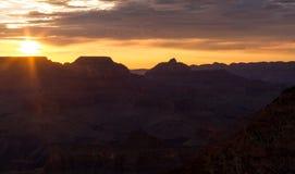 O Grand Canyon Fotografia de Stock
