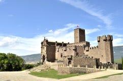 O grande castelo Imagens de Stock