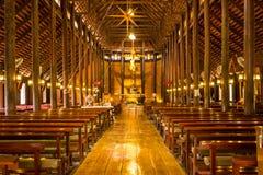 O grande dentro de Christian Church Fotos de Stock
