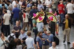 O grande festival britânico da cerveja, 2013 Imagens de Stock Royalty Free