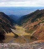 O grande fole longo do vale Fotografia de Stock
