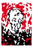 O grande medo (vetor) ilustração royalty free