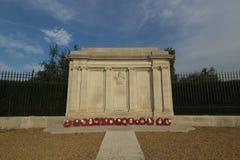 O grande memorial de guerra em Greenwich, Reino Unido Fotos de Stock Royalty Free
