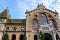 O grande mercado Salão em Budapest Foto de Stock