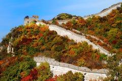 O Grande Muralha Foto de Stock
