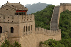 O Grande Muralha de China Foto de Stock
