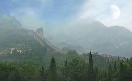 O Grande Muralha de China Imagem de Stock
