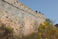 O Grande Muralha a parede Fotografia de Stock