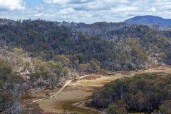 O grande platô do granito, Mt Parque nacional do búfalo, Austrália Foto de Stock