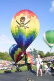 O grande St Louis Balloon Race 2018 imagem de stock