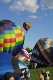 O grande St Louis Balloon Race 2018 imagens de stock royalty free