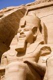O grande templo de Abu Simbel Fotografia de Stock Royalty Free