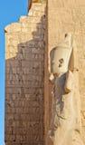 O grande templo de Karnak imagem de stock