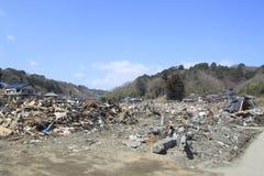 O grande terremoto do leste de Japão Fotos de Stock