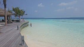 O grandiosity de Maldivas foto de stock
