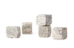 O granito do uísque apedreja a composição Fotos de Stock Royalty Free