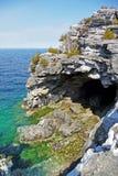 O grotto na mola adiantada imagem de stock