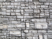 O Grunge Crafted a parede velha da rocha imagens de stock