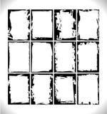 O Grunge molda a coleção Fotos de Stock