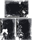 O Grunge molda vetores Fotos de Stock