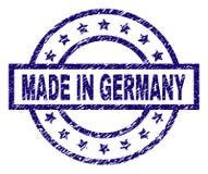 O Grunge Textured FEITO no selo do selo de ALEMANHA ilustração royalty free