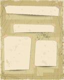 O Grunge textured o fundo com espaço vazio do papel velho do vintage para o lugar seu projeto do texto Imagens de Stock Royalty Free